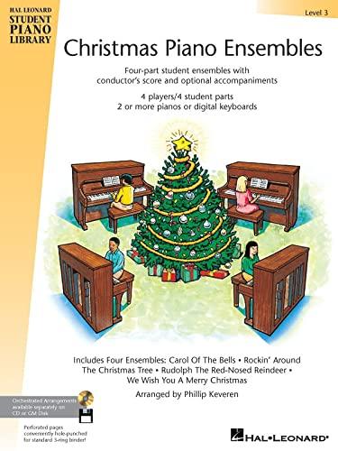 9780634051203: Christmas Piano Ensembles - Level 3 Book: Hal Leonard Student Piano Library
