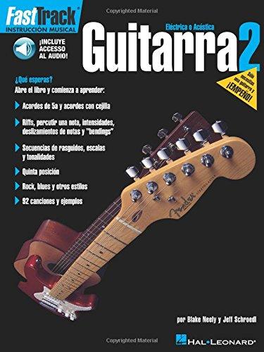 9780634051302: FastTrack Guitarra Book & Online Audio SPANISH GUITAR