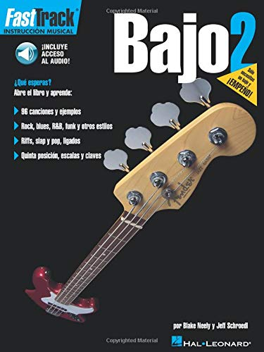 9780634051333: Fasttrack Bajo 2 Bk/online audio Spanish Bass Method 2 Bk/online audio (Fast Track (Hal Leonard))