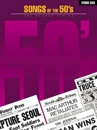 9780634052217: Songs of the '50s (The Decade Series)