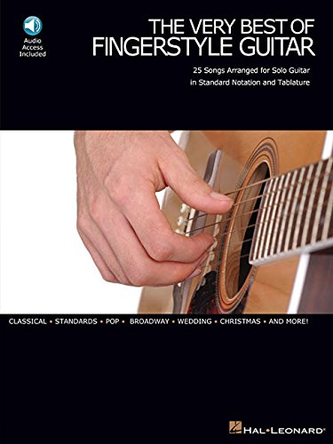 9780634052392: The Very Best of Fingerstyle Guitar: 25 Songs Arranged for Solo Guitar in Standard Notation And Tablature