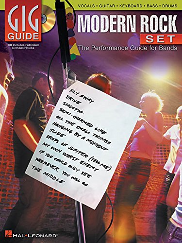 9780634052439: Modern Rock Set: The Performance Guide for Bands