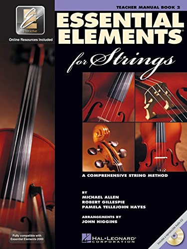 9780634052637: Essential Elements for Strings - Book 2 with EEi: Teacher Manual
