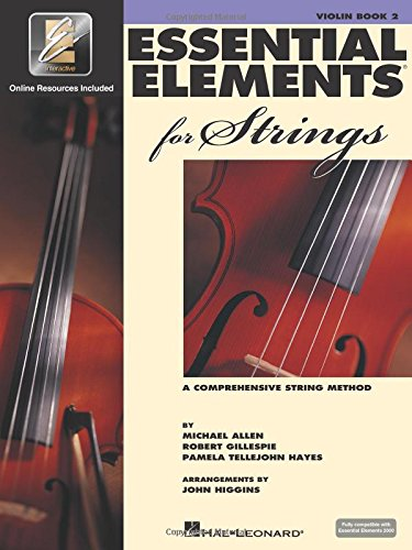 ESSENT ELEMENTS STRING W/EEI VIOLIN BK 2 BOOK/ONLINE MEDIA EE2000 COMPATIBLE Format: ...