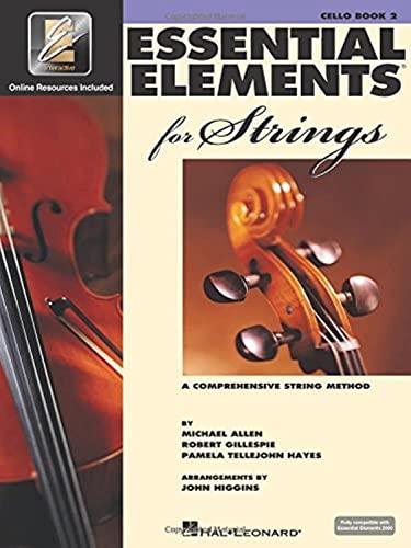 ESSENT ELEMENTS STRING W/EEI CELLO BK 2 BOOK/ONLINE MEDIA EE2000 COMPATIBLE Format: ...