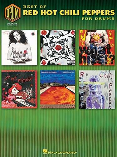 9780634052750: Best Of Red Hot Chili Peppers For Drums: Best Of Drum Recorded Versions