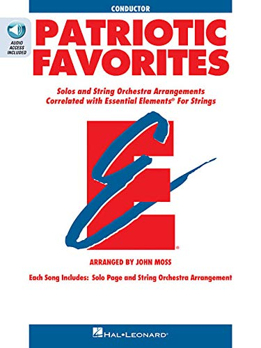 9780634052781: Patriotic Favorites for Strings: Conductor