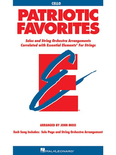 9780634052811: Patriotic Favorites for Strings: Cello