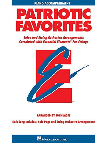 9780634052835: Patriotic Favorites for Strings: Piano Accompaniment