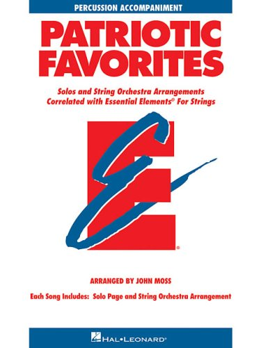 9780634052842: Patriotic Favorites for Strings: Percussion Accompaniment