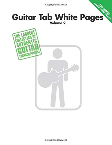 9780634053153: Guitar Tab White Pages