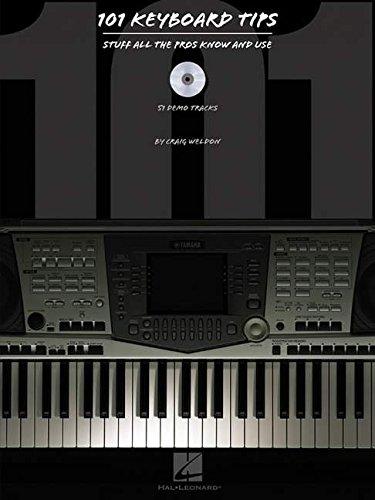 9780634053436: 101 Keyboard Tips (Book & CD)