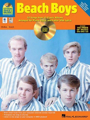 9780634053474: Beach Boys: CD-ROM Sheet Music