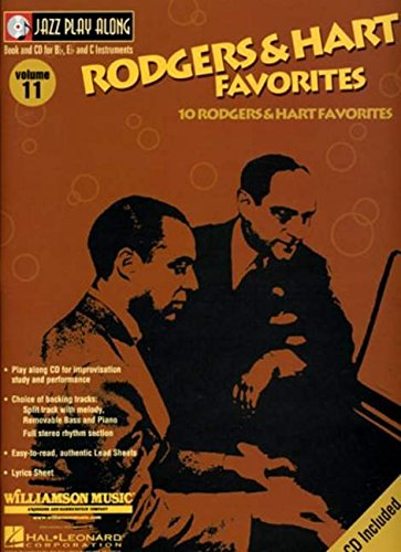 9780634053573: Rodgers and Hart Favorites: Jazz Play-Along Volume 11