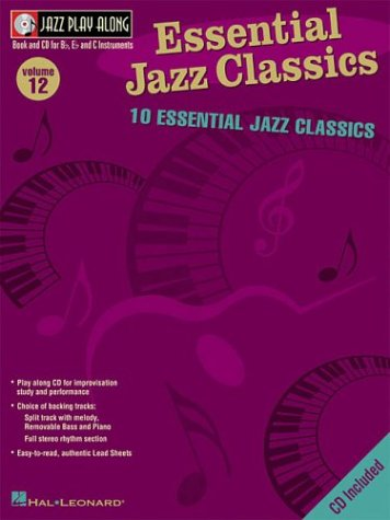 9780634053580: Essential Jazz Classics: Jazz Play-Along Volume 12 (Play-Along Ser)