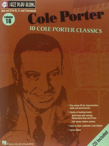9780634053634: Cole Porter: Jazz Play-Along Volume 16 (Jazz Play Along Series)