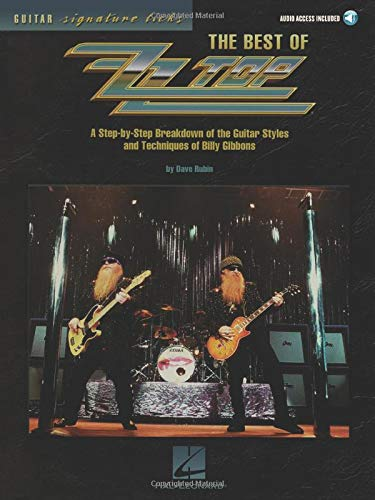 9780634053672: The Best of Zz Top: A Step-By-Step Breakdown of the Guitar Styles and Techniques of Billy Gibbons