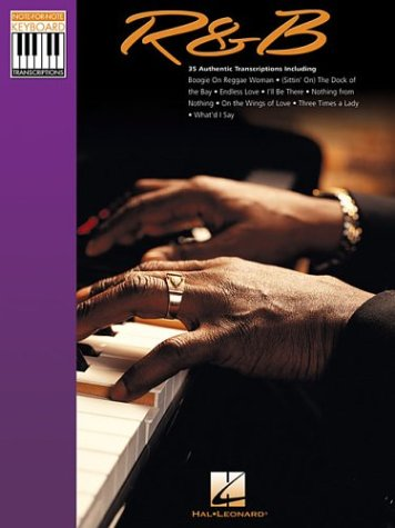9780634054112: R & B: Note-for-Note Keyboard Transcriptions