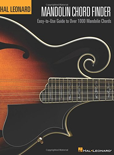 9780634054228: Mandolin Chord Finder: Easy-to-Use Guide to Over 1,000 Mandolin Chords