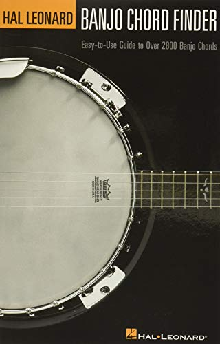 9780634054297: Banjo Chord Finder: Easy-To-Use Guide to over 2,800 Banjo Chords