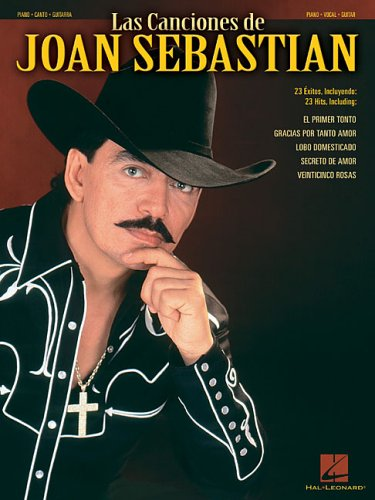 9780634054525: Las canciones de joan sebastian piano, voix, guitare (Piano/Vocal/Guitar Artist Songbook)