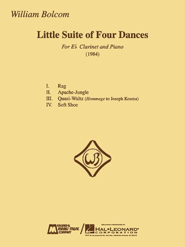 9780634055454: LITTLE SUITE OF FOUR DANCES FOR E CLARINET AND PIANO