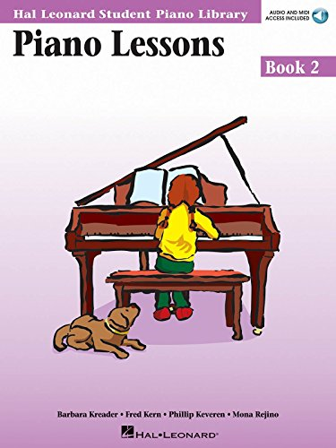 9780634055553: Piano Lessons Book 2 Book/Online Audio