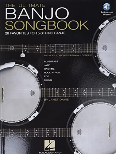 9780634056055: The Ultimate Banjo Songbook: 26 Favorites Arranged for 5-String Banjo Bk/Online Audio