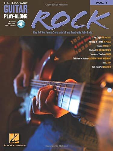 9780634056215: Guitar Play-Along Vol.001 Rock Tab + Cd