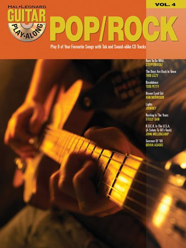 9780634056222: Pop/Rock: Guitar Play-Along: 4