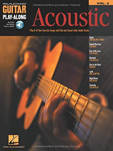 9780634056239: Acoustic Guitar Play-Along: Vol. 2