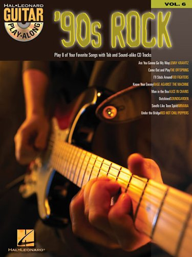 9780634056246: '90s Rock: Guitar Play-Along Volume 6