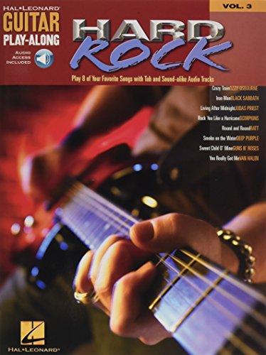 9780634056253: Hard Rock Guitar Play-Along
