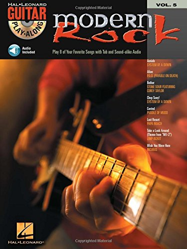 9780634056260: Modern Rock: Guitar Play-Along: 5