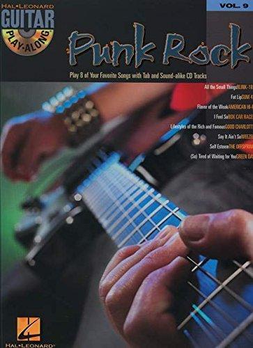 9780634056284: PUNK ROCK GUITAR PLAY ALONG VOLUME 9 BK/CD (Hal Leonard Guitar Play-Along)