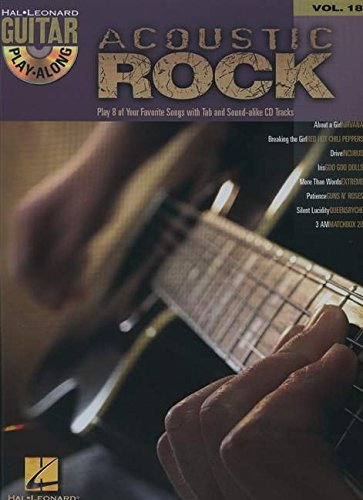 9780634056291: Acoustic Rock: Guitar Play-Along Volume 18