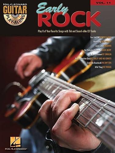 9780634056314: Early Rock Guitar Play-along: 11