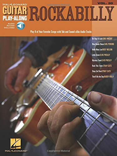 9780634056321: Rockabilly Guitar Play Along: 20