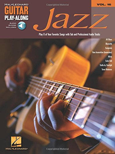 9780634056376: Jazz: Guitar Play-Along Volume 16
