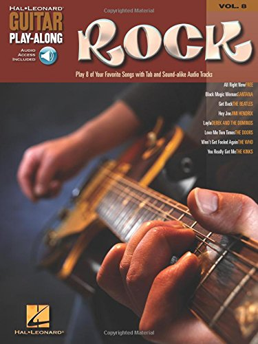 9780634056383: Rock: Guitar Play-along: 8