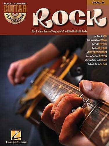 9780634056383: Rock: Guitar Play-Along Volume 8