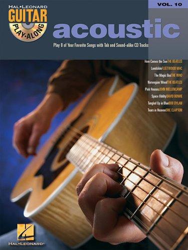 9780634056390: Acoustic: Guitar Play-Along Volume 10 (Hal Leonard Guitar Play-Along)