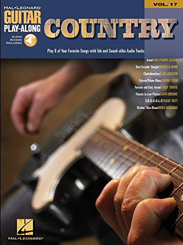 9780634056413: Country: Guitar Play-Along Volume 17