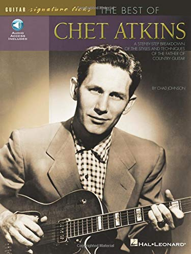 9780634056598: Best of Chet Atkins: A Step-By-Step Breakdown of the Styles and Techniques of the Father of Country Guitar