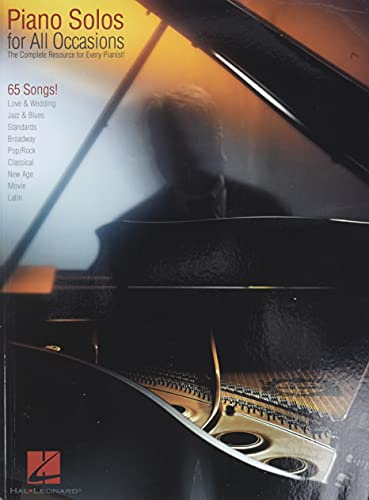 9780634056819: Piano Solos for All Occasions: The Complete Resource for Every Pianist! (Piano Solo Songbook)