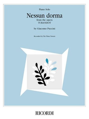 9780634056918: Nessun Dorma from the Opera Turandot: Piano Solo Sheet