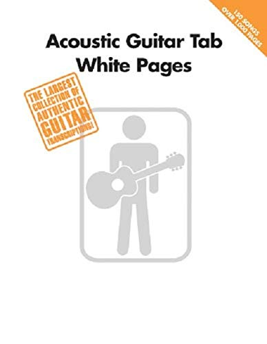 9780634057120: Acoustic Guitar Tab White Pages