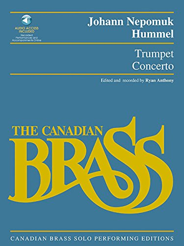 9780634057243: Trumpet Concerto: Canadian Brass Solo Performing Edition with a CD of full performance and accompaniment tracks