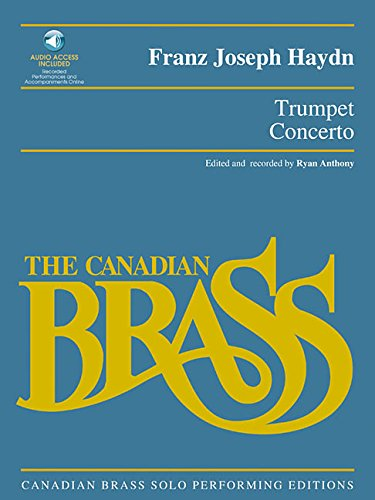 9780634057250: Trumpet Concerto: Canadian Brass Solo Performing Edition with a CD of full performance and accompaniment tracks