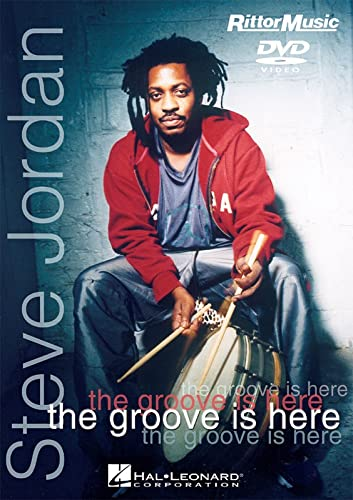 STEVE JORDAN - THE GROOVE IS HERE (DVD) Format: DvdRom